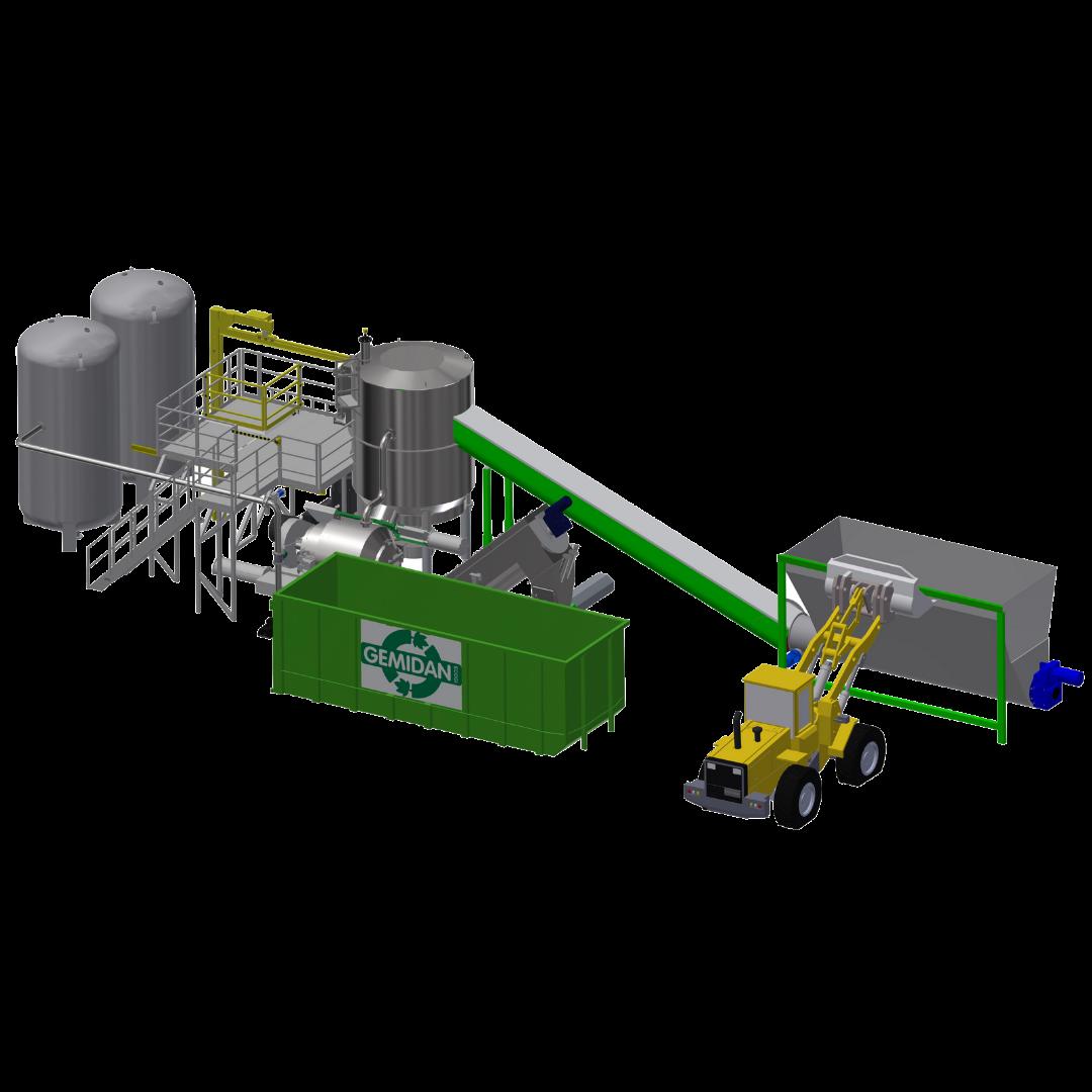 Teknisk opbygning af Ecogi anlægget